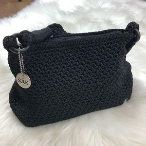 NWOT The Sak Classic Crochet Black Mini Bag